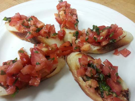 Bruschetta in Redlands
