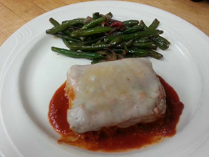 Vegetarian Lasagna at Isabella's